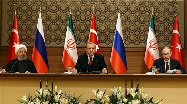 Erdoğan, Putin ve Ruhani'den açıklamalar