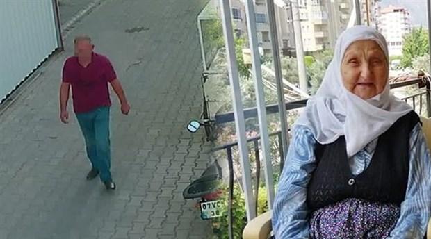 92 yaşındaki kadını baltayla gasp ettiler
