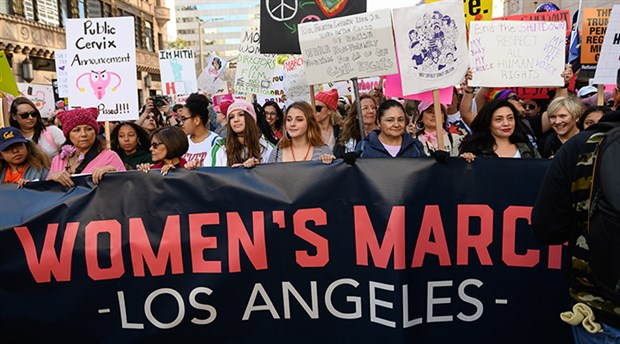 Dünyanın kadınları taciz ve şiddeti anlatacak