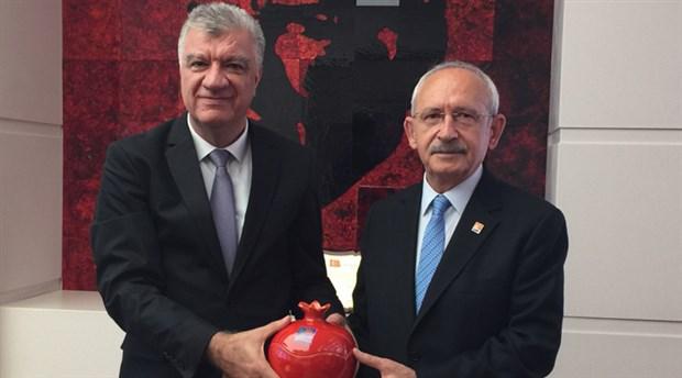 Ali Engin'den Kemal Kılıçdaroğlu'na ziyaret