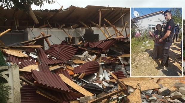 Beykoz'da evleri yıkılanlar yetkililere tepkili: Yuvamızı yıktılar şimdi nereye gideceğiz?