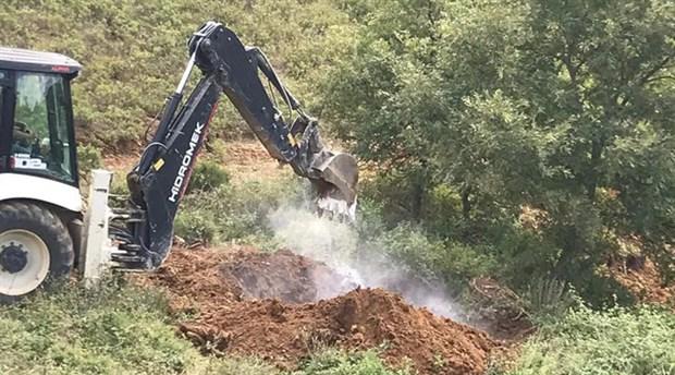 Bursa'da toprağa gömülü halde 6 bin tavuk bulundu