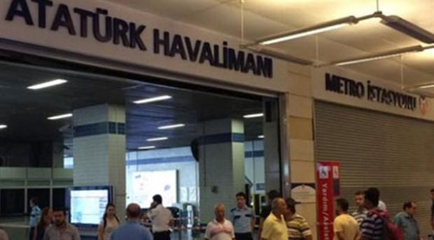 Atatürk Havalimanı'na yapılan metro seferleri normale döndü