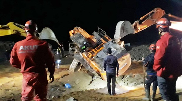 Taş ocağında heyelan: Bir işçi hayatını kaybetti