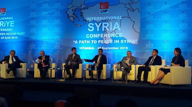 CHP'den uluslararası Suriye konferansı: Mezhepçi politikalarla bataklığa sürüklendik