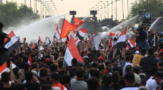 Irakta protestolar ile ilgili görsel sonucu