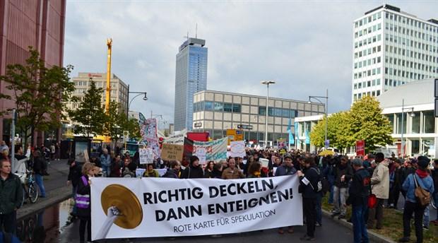 Berlinlilerden spekülasyonculara kırmızı kart