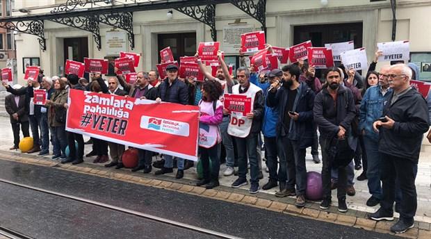 ÖDP'den pahalılığa ve zamlara karşı İstanbul'da eylem