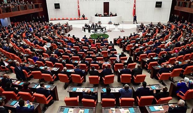 Suriye ve Irak'a operasyon tezkeresi, TBMM Genel Kurulunda kabul edildi