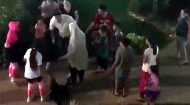 Ürdünlü çocuğa tokat atan şahıs tutuklandı