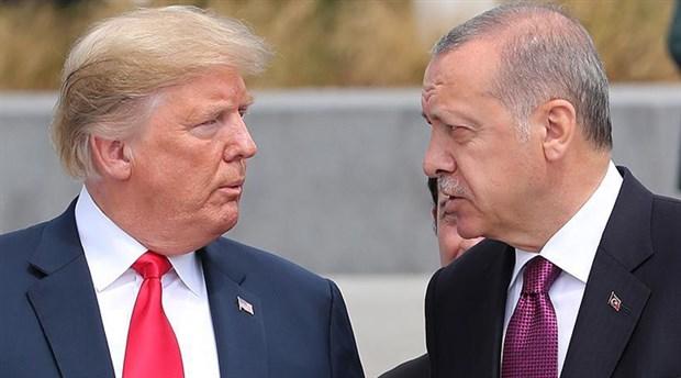 Erdoğan-Trump görüşmesinde dikkat çeken detay