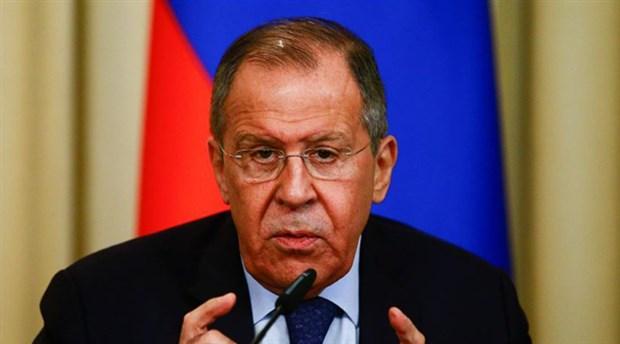 Lavrov'dan operasyon açıklaması: Bu çok tehlikeli bir oyun