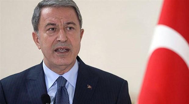 Milli Savunma Bakanı Akar'dan olası operasyona ilişkin açıklama
