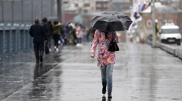 Meteoroloji'den İstanbul'a sağanak uyarısı