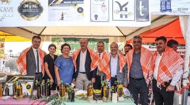 Zeytin festivaline yoğun katılım
