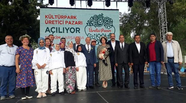 3.İzmir Tarım Festivali başladı, Kültürpark Üretici Pazarı açıldı