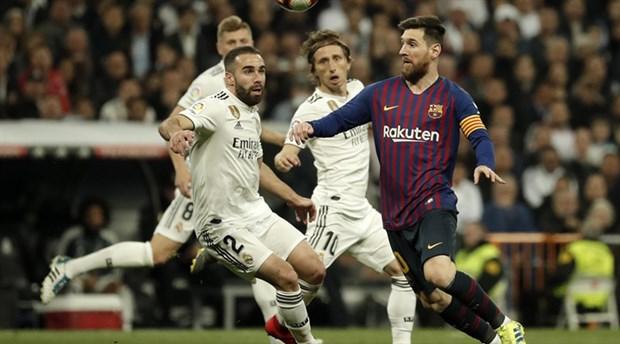 'El Clasico'da tarih belirsizliği: Barcelona-Real Madrid maçı ertelendi