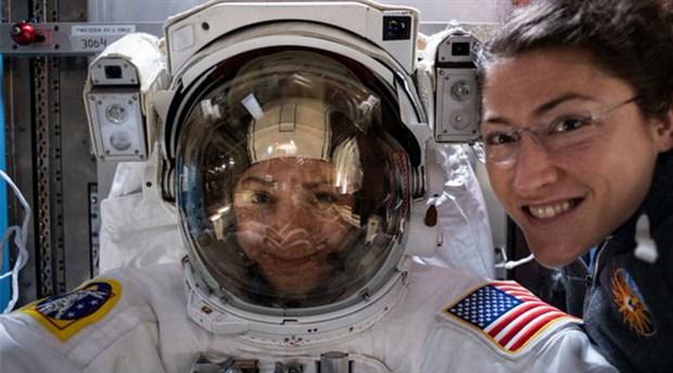 NASA'daki kadın astronotlardan bir ilk