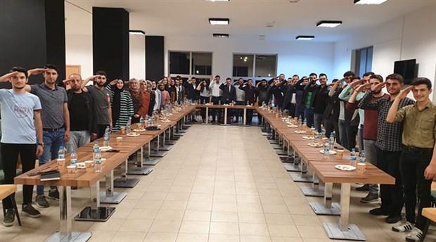 AKP'lilere özel, üniversite kantini
