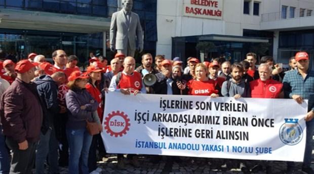 Ataşehir işçileri işini geri istiyor