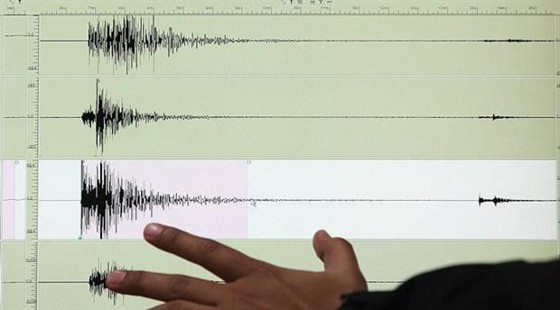 Akdeniz'de 3,4 büyüklüğünde deprem