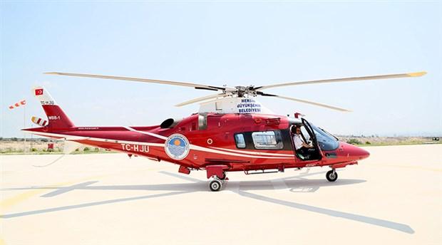 Belediye helikopterini satıyor