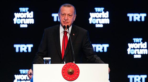 Erdoğan: Tüm Batı, teröristlerle birlikte bize saldırdı