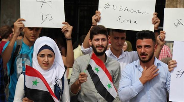Halep Üniversitesi öğrencileri: ABD defol