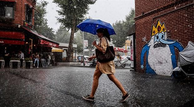 5 il için sağanak yağış uyarısı