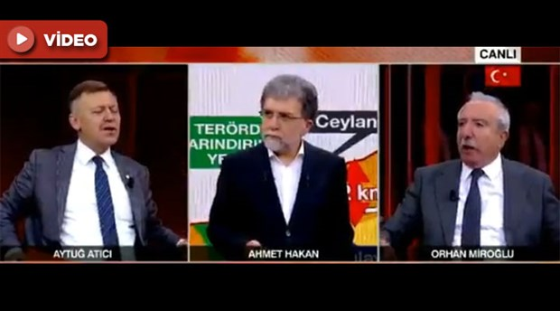 Canlı yayında ırkçılık kavgası: Miroğlu programı terk etti