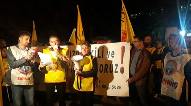 Ankara'da derslerin 20.50'de bitmesine karşı sendika ve velilerden ortak tepki