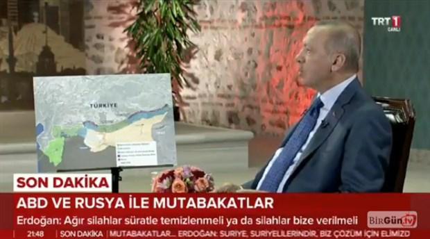 Erdoğan: Oralara en uygun olan Araplardır, çünkü çöl