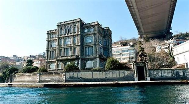 Tophane Müşiri Zeki Paşa Yalısı 550 milyon liraya satışa çıkarıldı