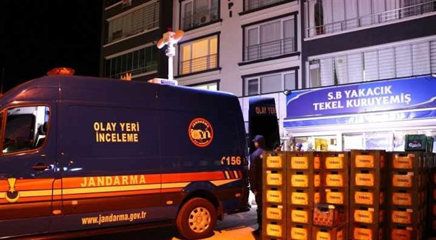 Ankara'da bir markete bombalı saldırı