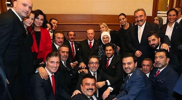 İşte Erdoğan'ın resepsiyon ünlüleri