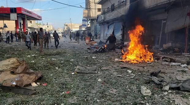 """MSB: """"YPG/PKK tarafından Tel Abyad'da bombalı aracın patlatılması sonucu 13 sivil hayatını kaybetti"""""""