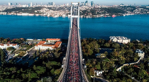 İstanbul Maratonu'ndan tüm dünyaya 'iyilik' mesajı