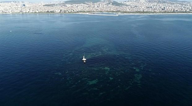 İstanbul'da bin yıl önce depremlerle sular altında kalan Vordonisi Adası havadan görüntülendi