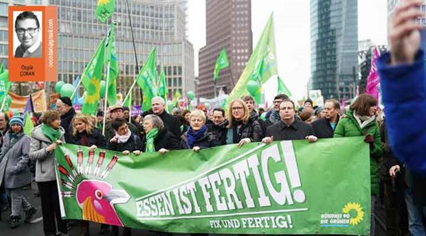 Merkez siyasetin rota arayışı: Yeşiller