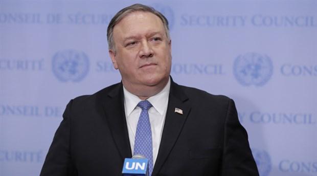 ABD Dışişleri Bakanı Pompeo: SDG'ye destek sürecek
