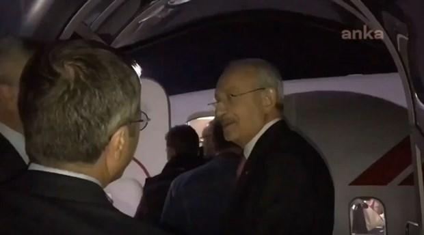 CHP Genel Başkanı Kılıçdaroğlu tarifeli uçak sırasında