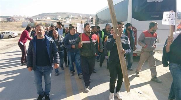 Patron kumpasıyla gözaltına alınan işçiler: Maaşlarımızı alana kadar direneceğiz