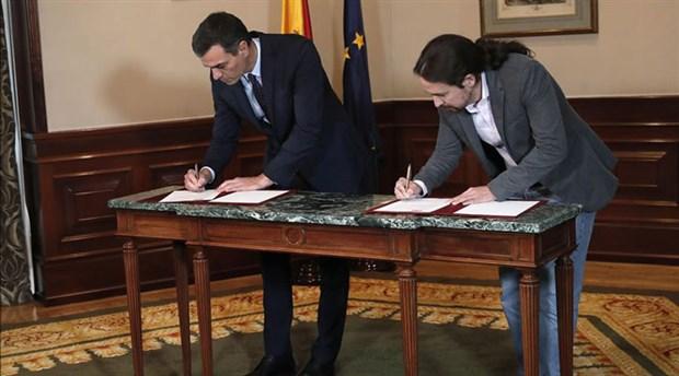 İspanya'da sol koalisyon için anlaşma sağlandı: 'Aşırı sağa karşı en iyi aşı bu'