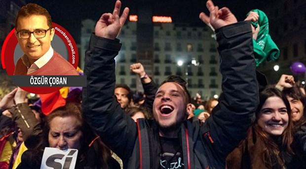 İspanya'da bağımsız Katalonya karşıtı faşist cephe büyüyor