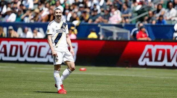 Ibrahimovic'den Galaxy'ye veda: Şimdi beyzbol izlemeye devam edin
