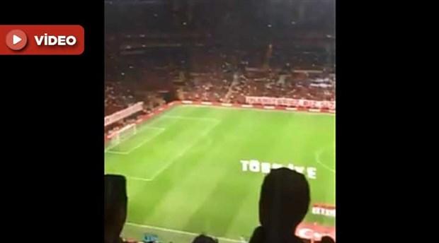İstanbul'da oynanan İzlanda-Türkiye maçında, İzlanda Ulusal Marşı ıslıklandı