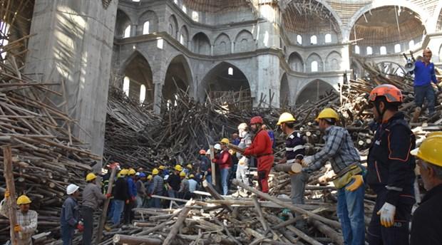 Türkiye'nin en büyük ikinci camisinde enkaz altında kalan mühendis aranıyor: 30 saat geride kaldı!