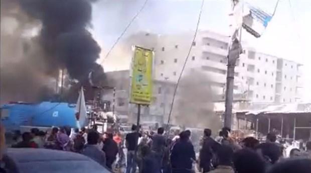 El Bab'da bombalı araç ile saldırı: 18 ölü