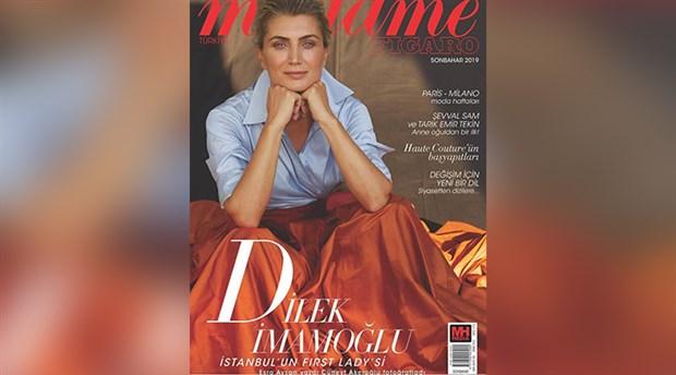İmamoğlu, eşinin 'Madame Figaro'ya kapak olması hakkında konuştu