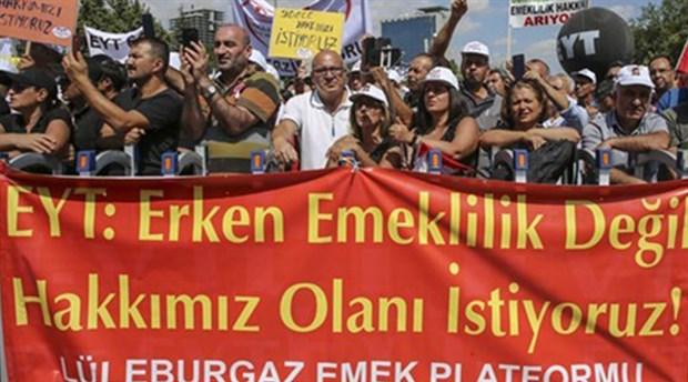 EYT'lilerden Erdoğan'a tepki: Vazgeçmeyeceğiz